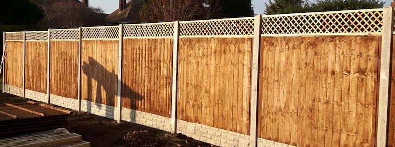 P Norris Fencing Installation